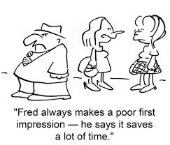 first-impression-cartoon