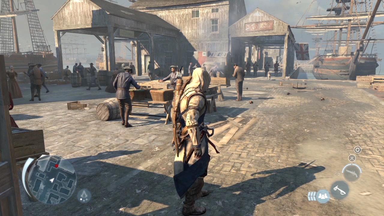 Assassins Creed 3 Gameplay Elamb